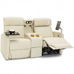 Qualitex Concord RV Loveseat With Console