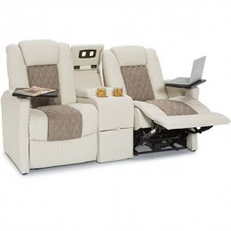 Qualitex Monument RV Loveseat with Console