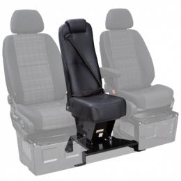 Qualitex Sprinter Van (2007-2018, 2019+) Jump Seat w/ Quick-Release Base & Integrated 3-Point Seatbelt
