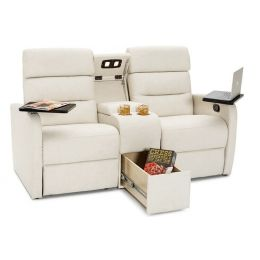 Qualitex Tribute RV Loveseat With Console